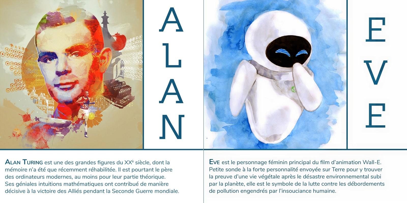 Alan & Eve - Ateliers