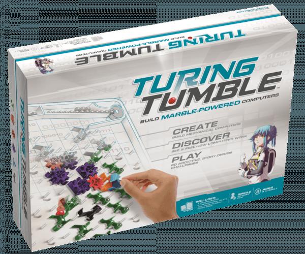 Boite du jeu Turing Tumble