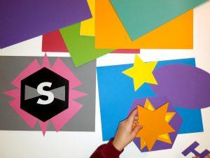 Des étoiles pour un logo très puissant!