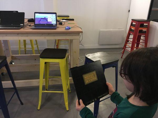 Une cadeau pour Maman créé avec l'imprimante 3D