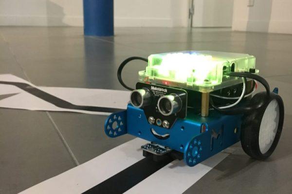 Le petit robot, prêt à en découdre!