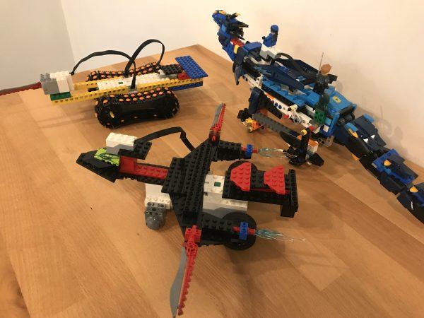 Quelques robots contruits en Lego