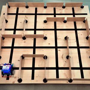 Stage de robotique et programmation: concevoir un algorithme pour sortir du labyrinthe